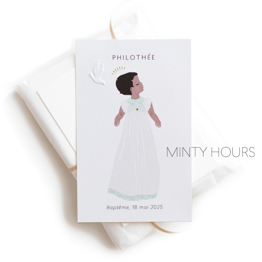 Carte Baby Antilles-Afrique Minty Hours